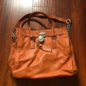 Michael Kors soft leather tote.